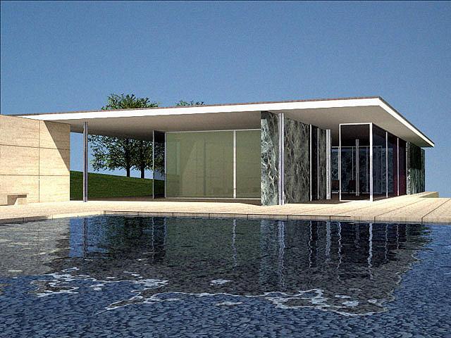 代表的ミニマリストデザイナー Van der Roheの住宅