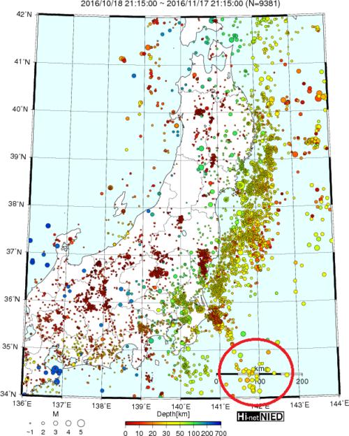 12月上旬までに相模トラフ巨大地震が起こる