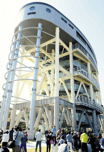 津波避難タワー