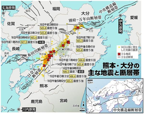 熊本地震からもうすぐ一年