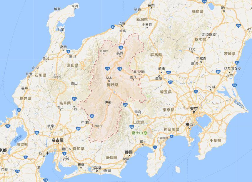 長野県 地震