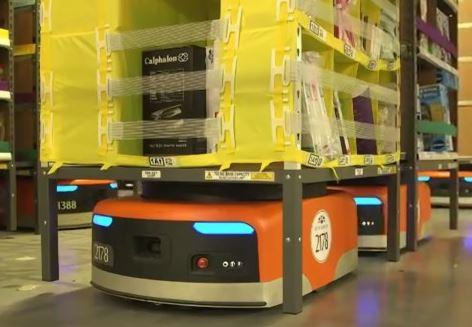 Amazonの倉庫番ロボットが24億円以上のコストカットに成功、人間の仕事を奪う日も近い?