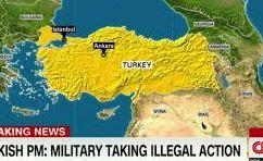 トルコのクーデター失敗。首謀者の拘束と逮捕へ移行?