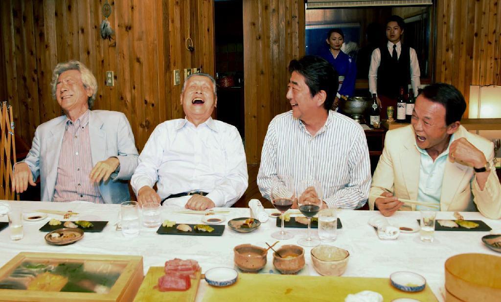 安倍首相の夏休み
