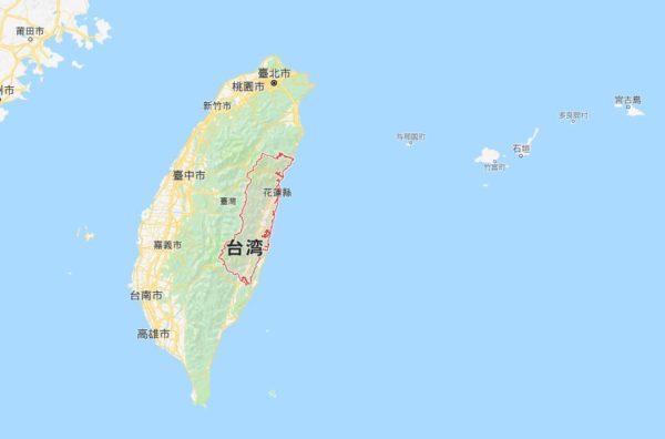 台湾 花蓮県