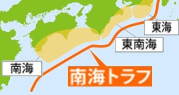 南海トラフ地震 津波